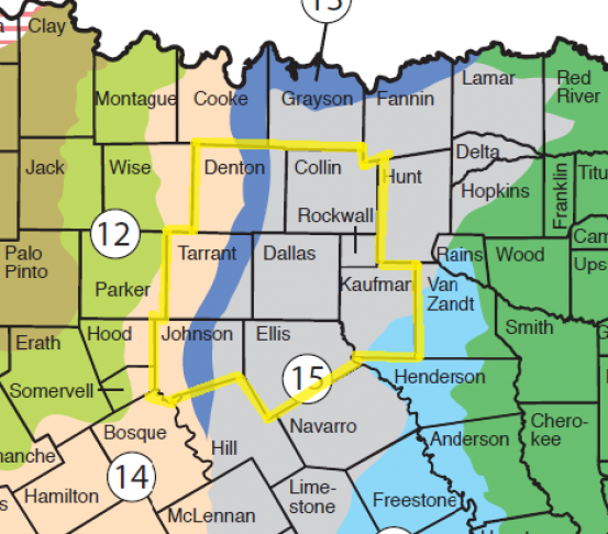 Texas Soil Ph Map North Texas Soil Types   Soil Alive